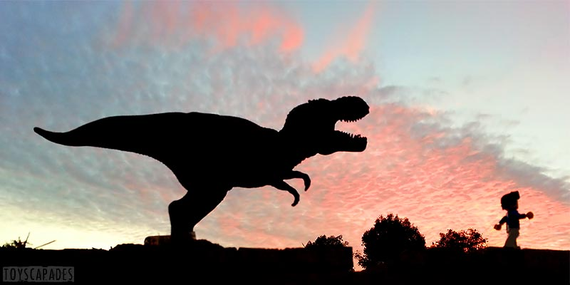 bill-dollar-runs-from-a-trex-into-the-sunset